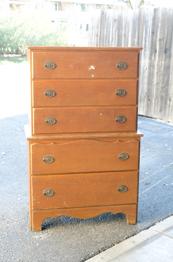 $5 Dresser - Before